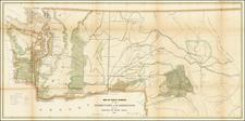 Idaho and Washington Map By U.S. General Land Office