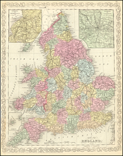Map of England By Charles Desilver