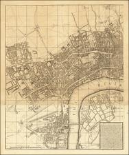 London Map By Thomas Jefferys