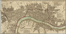 London Map By Carington Bowles