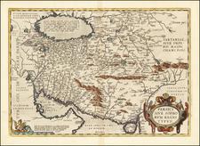 Persici Sive Sophorum Regni Typus By Abraham Ortelius