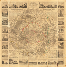 Paris Map By Le Roi