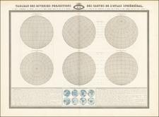 World Map By F.A. Garnier