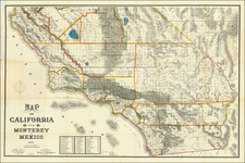 California Map By J.S. Thayer  &  Simon Stoll
