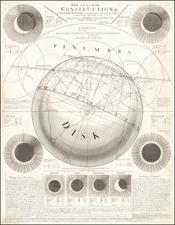 Celestial Maps Map By John Senex