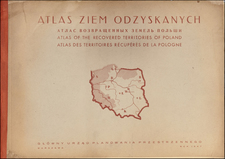 Poland, Atlases and World War II Map By Jozefa Zaremby