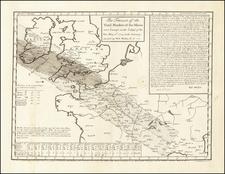 British Isles and Celestial Maps Map By John Senex