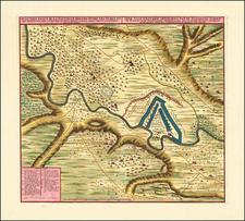 Ukraine and Romania Map By Nicolaes Visscher II