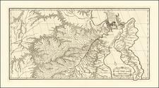Russia in Asia Map By Jean-Baptiste Bourguignon d'Anville