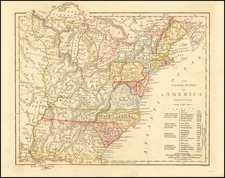 United States Map By Robert Wilkinson