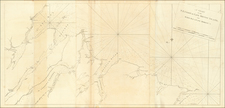 American Revolution and Canada Map By Joseph Frederick Wallet Des Barres
