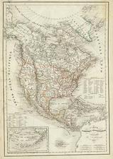 North America Map By Delamarche