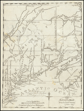 Maine Map By Jedidiah Morse