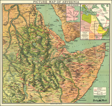 East Africa Map By George Philip