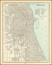 Midwest Map By George F. Cram