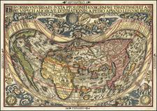 World Map By Peter Apian