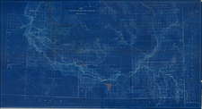 Idaho Map By Great Shoshone and Twin Falls Water Power Company