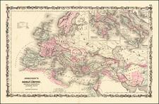 Johnson's Roman Empire By Alvin Jewett Johnson  &  Browning