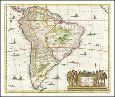 South America Map By Jan Jansson