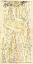 Curiosities Map By Thomas Hohler / Johann  Gottlob Friedrich Strass