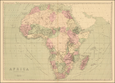 Africa Map By J. David Williams