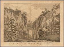Virginia Map By Columbian Magazine