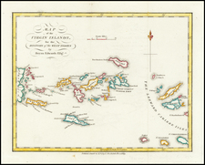 Virgin Islands Map By Bryan Edwards
