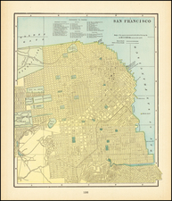 San Francisco Map By People's Publishing Co.