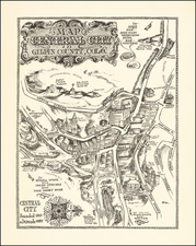 Colorado, Colorado and Pictorial Maps Map By Barbara Remington