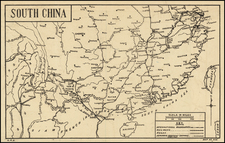 China Map By C. P. D.