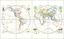 World Map By G. A. St. Dewald