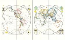World Map By G. A. St. Dewald