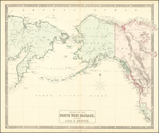 Polar Maps and Alaska Map By George Philip & Son