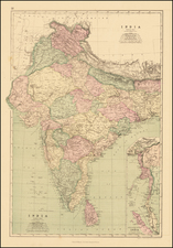 India Map By J. David Williams