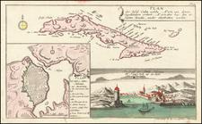 Cuba Map By Gabriel Nikolaus Raspe