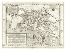 Northern Italy Map By Orlando Malavolti