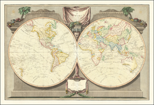 World Map By James Whittle  &  Robert Laurie