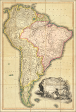 South America Map By Richard Brookes