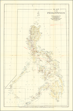 Philippines Map By National Geographic Society