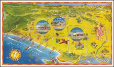Los Angeles Map By Harold Mueller