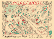 Pictorial Maps and Los Angeles Map By Harold W Grieve