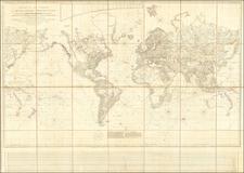 World Map By Aaron Arrowsmith