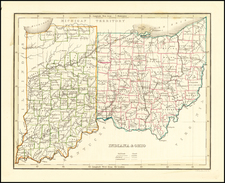 Indiana & Ohio By Thomas Gamaliel Bradford