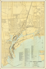 Los Angeles Map By Harbor Department of the City of Los Angeles