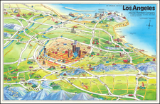 Los Angeles Map By Swaena Lavelle