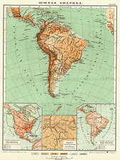 South America Map By Anonymous