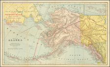 Alaska and Canada Map By Alaska-Yukon-Klondike Gold Syndicate