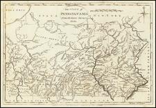 Pennsylvania Map By John Payne