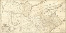 Pennsylvania Map By Nicholas Scull