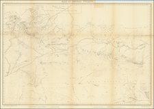 Wyoming Map By F.V. Hayden